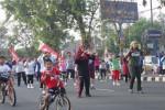 Pedagang Jl. Lawu Karanganyar Gundah karena Dilarang Jualan saat CFD