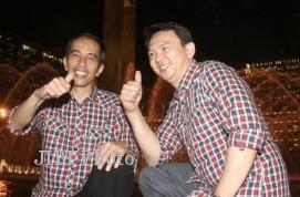 Joko Widodo (Jokowi) (kiri) dan Basuki Tjahja Purnama (Ahok). (dok ...