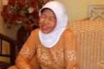 Ibunda Jokowi, Sudjiatmi. (JIBI/SOLOPOS/Burhan Aris Nugraha)