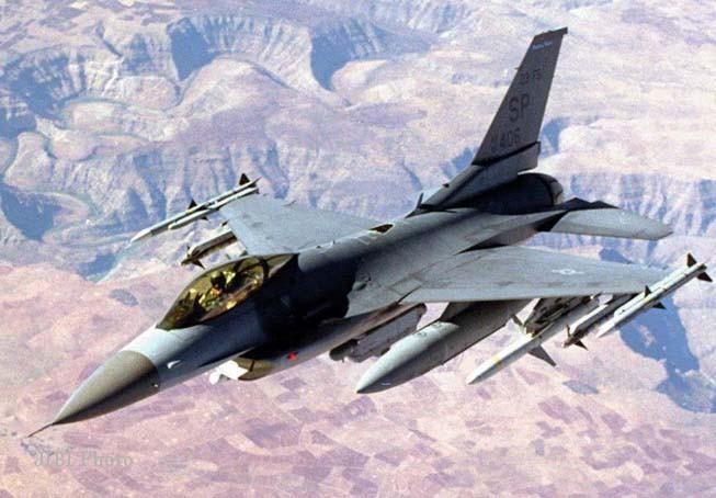 Ilustrasi pesawat F-16 (JIBI/Solopos/Dok.)