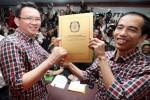 Jokowi (kanan) dan Ahok. (detik)