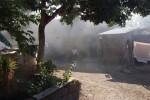 Asap dari proses pengasapan tembakau di oven tembakau yang terletak di Dukuh/Desa Jembungan, Banyudono, Boyolali ini dikeluhkan warga setempat, namun sudah ada titik temu penyelesaian. (JIBI/SOLOPOS/Septhia Ryanthie)