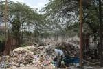 Kondisi tempat pembuangan akhir sampah di Winong, Boyolali. Proses penanganan sampah di TPA ini sempat terhambat selama beberapa hari akibat rusaknya ekskavator. (JIBI/SOLOPOS/Septhia Ryanthie)