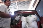 Barang bukti para tersangka pencurian beras di Boyolali. (Septhia Ryanthie/JIBI/SOLOPOS)