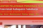 Ilustrasi KPPT Kabupaten Sukoharjo (kppt.sukoharjokab.go.id)