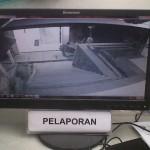 Garong di RS Grhasia Terekam CCTV