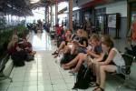 Ilustrasi konsumen fasilitas transportasi PT Kereta Api Indonesia di Stasiun Balapan Solo. (JIBI/Solopos/Dok)
