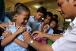 Imunisasi MRdi BoyolaliDiperpanjang hingga 14 Oktober 2017