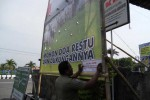 Penertiban Dilakukan, Baliho Liar Tetap Bermunculan