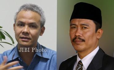 Ganjar Pranowo (kiri) dan Hadi Prabowo. (JIBI/SOLOPOS/R Bambang Aris S/hariansemarangbanget.com)
