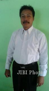 Sutoyo, kader yang diusung PAN dalam pilgub Karanganyar 2013. (Foto: Kurniawan/JIBI/SOLOPOS)