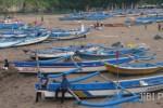 Kapal Terisi Penuah Muatan Ikan, Kapal Nelayan Baron Terbalik