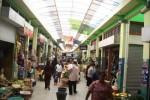 Inilah kondisi Pasar Bunder Sragen. Eksistensi pasar tradisional terancam dengan munculnya pasar modern di Bumi Sukowati, salah satunya minimarket waralaba. (JIBI/SOLOPOS/Ponco Suseno)