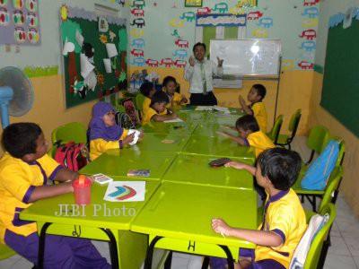 Salah satu sekolah inklusi di Solo (JIBI/SOLOPOS/Dok)
