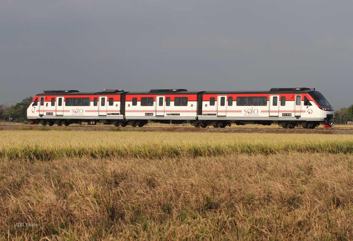 Batara Krisna, Kereta Railbus Baru Jurusan Solo - Wonogiri - JogjaUpdate.com