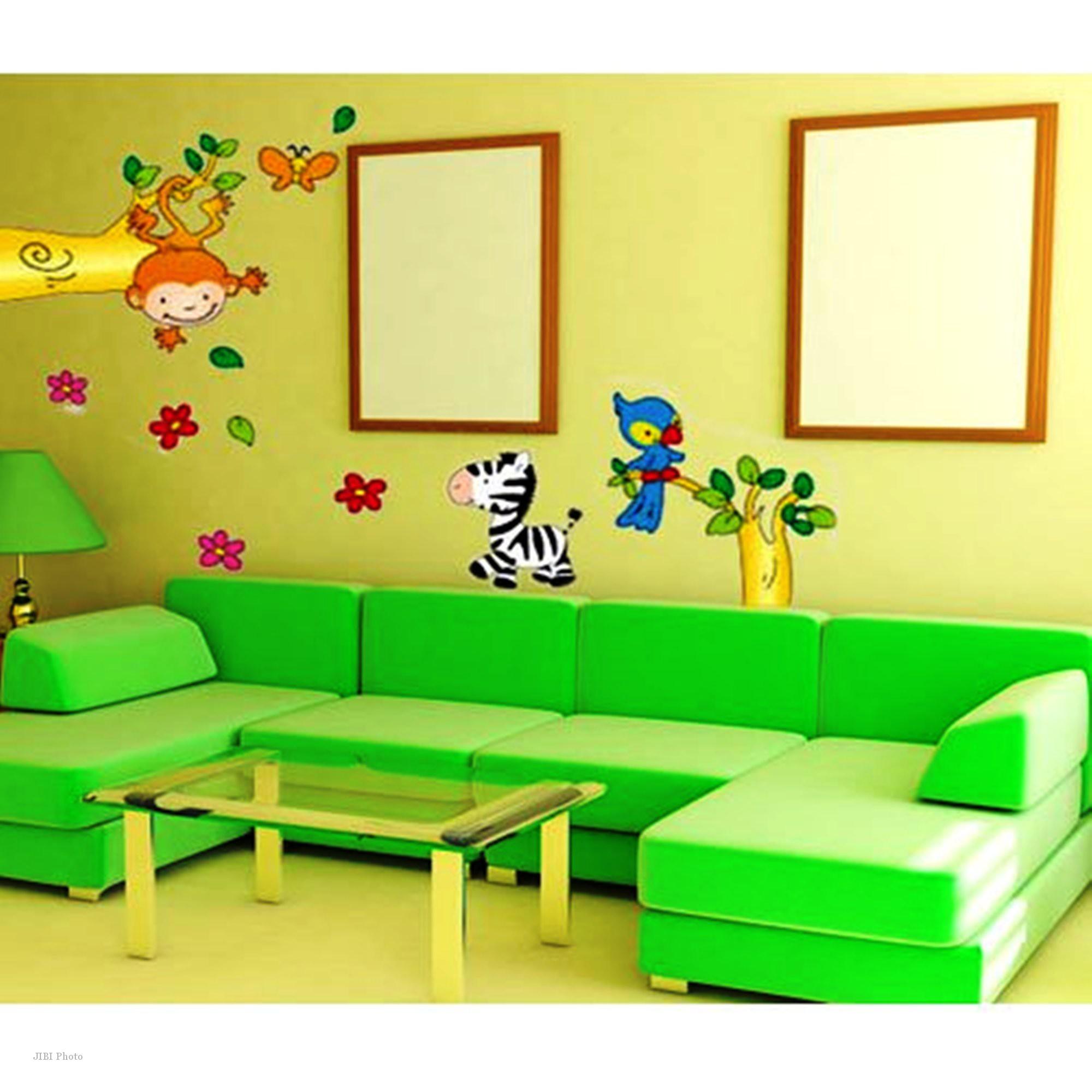 218 Contoh Wallpaper Dinding Ruang Tamu Gambar Rumah Idaman