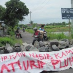 TOL SEMARANG-SOLO : Blokade Jalan di Ngargosari Ampel Akhirnya Dibuka