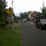 Polisi berpatroli di sekitar TKP, Rabu (12/12) (JIBI/Harian Jogja/Ujang Hasanudin)