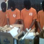 Para pelaku berhasi ditangkap polisi, Kamis (13/12) dini hari (JIBI/Harian Jogja/Ujang Hasanudin)