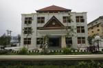 Bangunan gedung baru Kantor Dinas Pendidikan Pemuda dan Olahraga (Disdikpora) di Jl DI Panjaitan, Banjarsari, Solo, Selasa (8/1/2013). Direncanakan gedung itu akan difungsikan Februari mendatang. (Agoes Rudianto/JIBI/SOLOPOS)