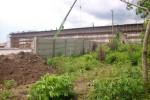 Tanah pekarangan milik Abdul Rohim, 80, yang sebagian tanahnya digunakan untuk pembangunan jalan tol Solo-Kertosono (Soker), (JIBI/SOLOPOS/Mahardini Nur Afifah)