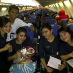 Penumpang Merpati Melahirkan di Pesawat