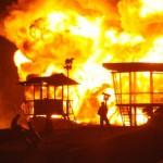 Kompor Meledak, 20 Rumah Dinas Kebersihan Terbakar