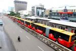 Sandi Keluhkan Macet Gara-Gara Proyek, Transjakarta Bikin Rute Ekspres