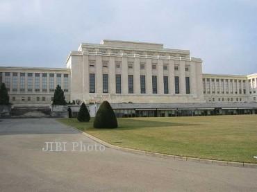Palais des Nations di Jenewa, Swiss, yang menjadi markas besar Liga bangsa-bangsa. Gedung ini kemudian menjadi kompleks perkantoran PBB. (en.wikipedia.org)