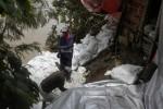Air Bengawan Naik, Warga Daleman Siaga Banjir