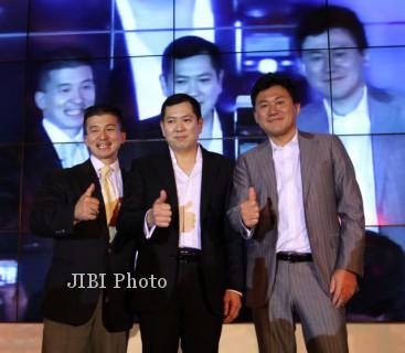 Hary Tanoesudibyo (tengah) (Dok/JIBI/Bisnis)