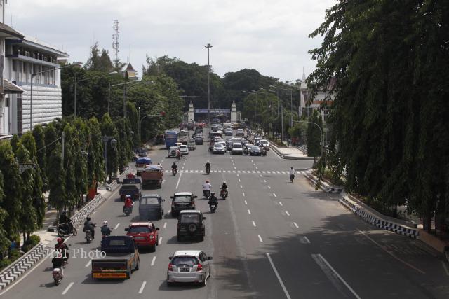 Jalan Jenderal Sudirman, Solo. (Dok/JIBI/Solopos)