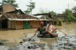BANJIR CILACAP : Ratusan Rumah di Cilacap Terendam Air
