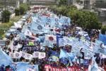 MOGOK NASIONAL : Hari Ini, Buruh Pemanasan Mogok Nasional