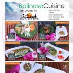 "Grand   Artos  Aerowisata  Sajikan "" Balinese Cuisine """