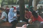 Ilustrasi suasana aktivitas mahasiswa di salah satu kampus di Solo. Foto diperagakan oleh model. (Dok/JIBI)