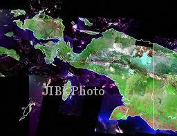 Ilustrasi Pulau Papua (yale.edu)