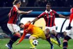 AC MILAN Vs BARCELONA: Babak Pertama, Milan-Barca Tanpa Gol