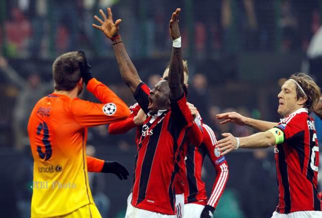 Pertandingan AC Milan vs Barcelona