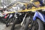 CURANMOR JOGJA : 8 Orang Sindikat Dibekuk, Bisa Mencuri 2-3 Sepeda Motor Per Hari