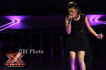 Novita Dewi, peserta X Factor Indonesia (xfactorindonesia.com)