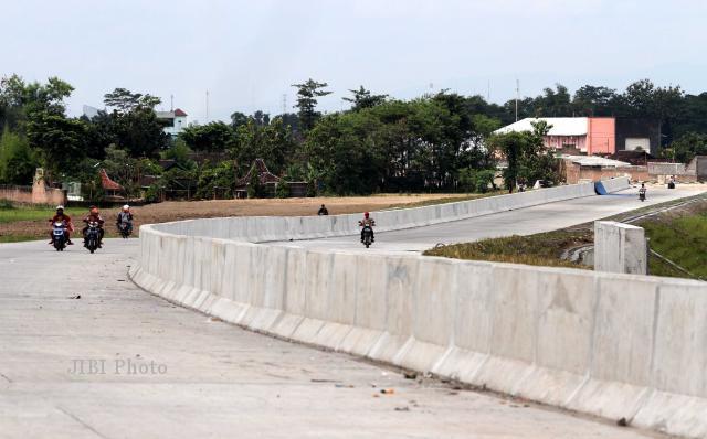 Ilustrasi pembangunan jalan tol Solo-Kertosono di Ngemplak, Boyolali (JIBI/SOLOPOS/Burhan Aris Nugraha)
