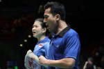 Pasangan ganda campuran Indonesia, Muhammad Rijal/Debby Susanto. (badmintonindonesia.org)