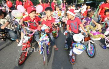 Ilustrasi sepeda anak (Dok/JIBI/SOLOPOS)