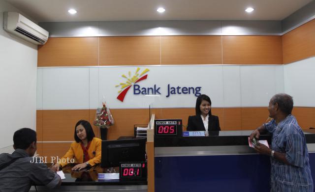 Ilustrasi aktivitas perbankan Bank Jateng. (Burhan Aris Nugraha/JIBI/Solopos)