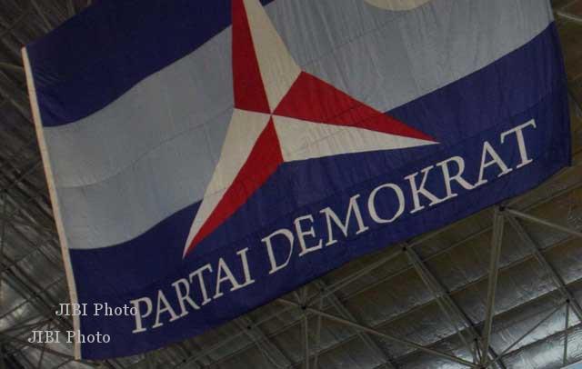 Ilustrasi bendera Partai Demokrat (JIBI/Solopos/Dok.)