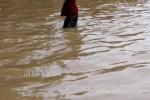 BENCANA PACITAN : Banjir Material Batu Tutup Total Akses Masuk ke Waduk Tukul