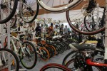 Ilustrasi toko sepeda