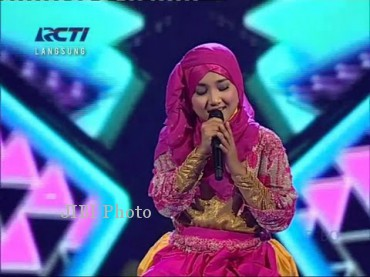 Fatin, peserta X Factor Indonesia (Youtube.com)