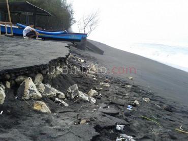 Abrasi di pantai Kuwaru (JIBI/Harian Jogja/dokumen)